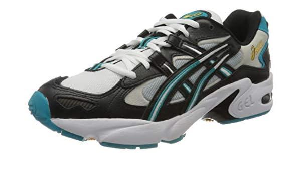 Asics Gel-Kayano 5 OG, Zapatillas de Running Unisexo, Negro/Blanco ...