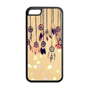 Custom Chevron Dream Catcher Back Cover Case for iPhone 5C OA-640