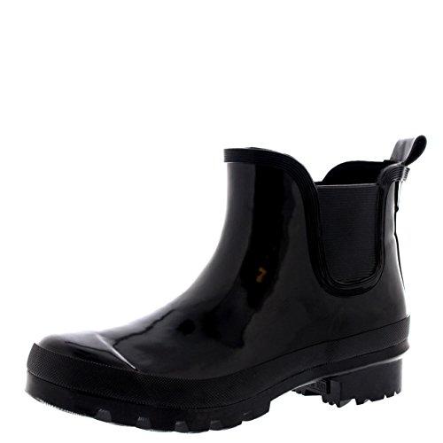 Womens Original Chelsea Gloss Festival Winter Snow Rain Wellington Boots - 9 - BLA40 BL0123