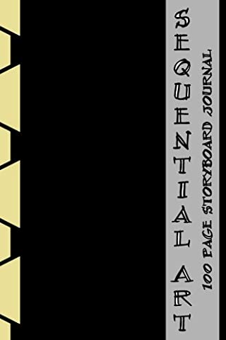 Sequential Art: 100 Page Storyboard Journal - Sequential Art