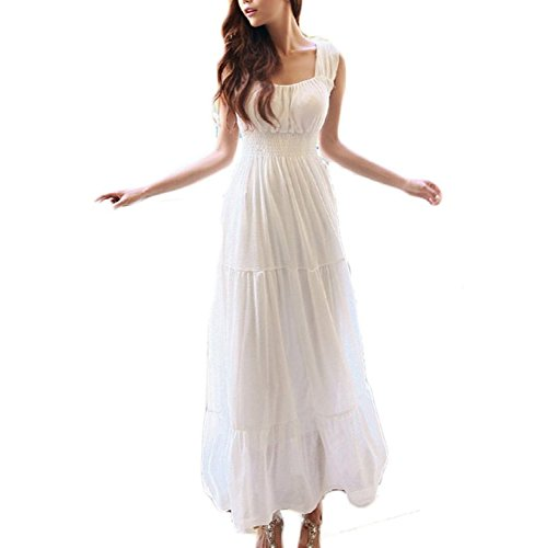 Suimiki Womens Sleeveless Chiffon Summer
