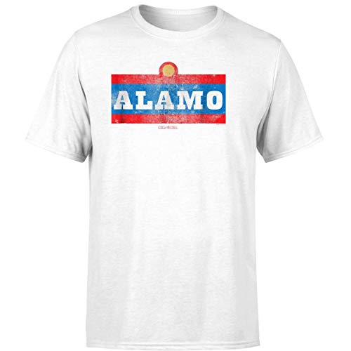 King of The Hill Alamo Beer T Shirt (Unisex T-Shirt/White/L)]()