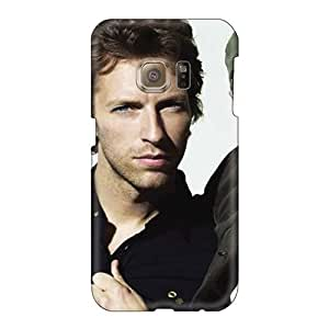 Shockproof Cell-phone Hard Covers For Samsung Galaxy S6 With Customized Fashion Coldplay Band Skin ChristopherWalsh