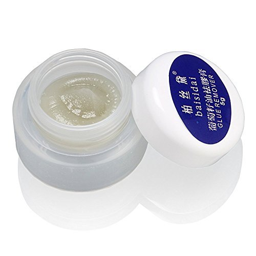 Professional Super Individual False Eyelash Lash Lashes Eyelashes Extension Glue Remover Grape Seed Oil Makeup Removal Gel Cream 5g with Original Box