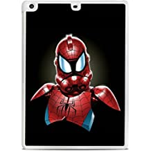 Spiderman StormTrooper Art White iPad Air Hardshell Case by MWCustoms