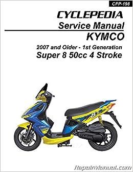 kymco super 8 50 scooter workshop repair manual download
