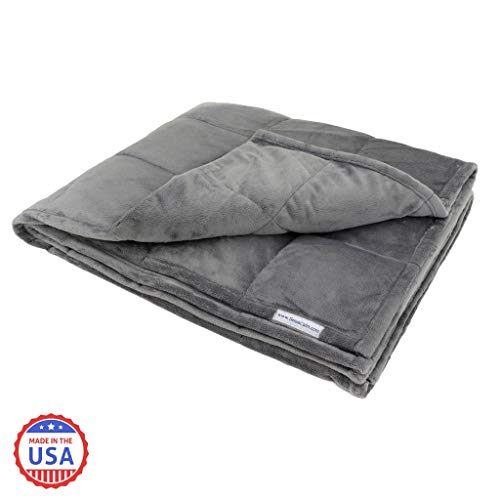 Cheap SensaCalm Economy Weighted Blankets (20 LBS) Black Friday & Cyber Monday 2019