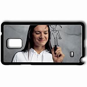 Personalized Samsung Note 4 Cell phone Case/Cover Skin Adidas the impossible possible isinbayeva lena Black