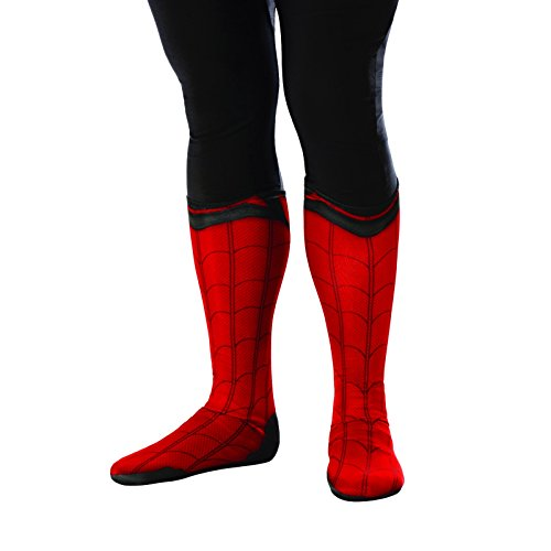 Rubie's Costume Men's Spider-Man Adult Costume Accessories, Homecoming, Boot Tops ()