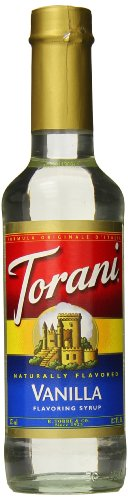 Torani Vanilla Syrup, 12.7 Ounce -Pack of 1