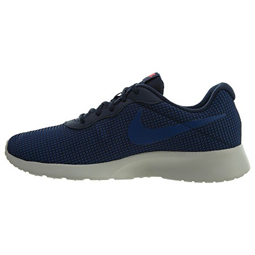 Nike Mens Tanjun Se Shoe Oxidian / Gym Blue / Solar Red / Light Bone