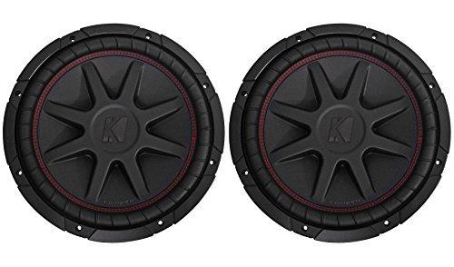 "(2) Kicker 43CVR122 12"" Dual Voice Coil 2-Ohm Car Audio Subwoofers Totaling 1600 Watt"