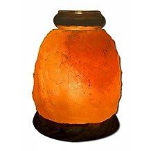 Himalayan Salt Aroma Lamp, 5 Inch by Aloha Bay (Pack of 3)