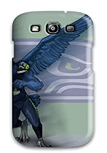 DanRobertse Snap On Hard Case Cover Seattleeahawks Protector For Galaxy S3