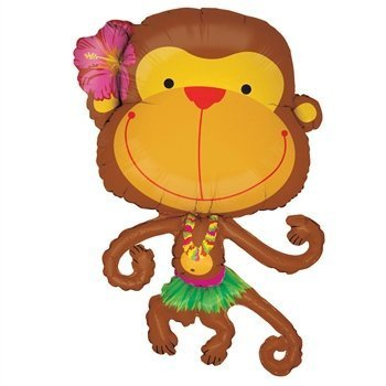 Linky Monkey Shape Balloon- 39in ()