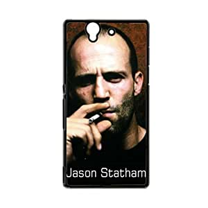 Generic Silica Protective Phone Case For Girly Print With Jason Statham For Sony Xperia Z L36H Choose Design 1
