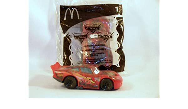 Amazon Com Disney Cars 2006 Mcdonalds Toy 1 Lightning Mcqueen