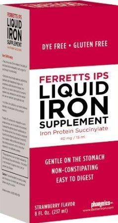 Ferretts IPS Liquid Iron Supplement (Pack of 20)