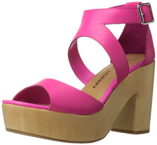- Chinese Laundry Women's Ocean Avenue Platform Sandal, Shocking Pink Leather, 7.5 M US