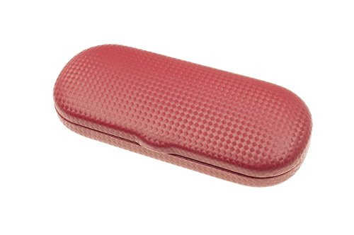 Complex Eyeglasses Case for Small to Medium Frames in Red