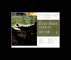 This Fleet Foxes matted print is an original piece of advertising material. It is not reproduced or copied in any way. The print has been matted using premium quality black or white mount board. All prints are pressure mounted onto quality Kr...