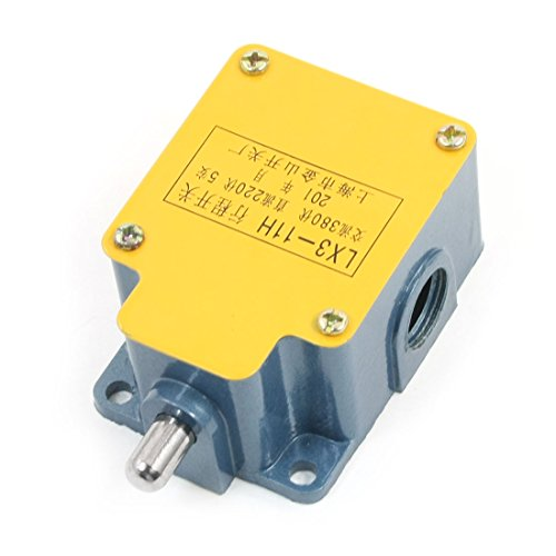 UPC 702105480076, AC 380V Push Plunger Momentary Actuator Limit Switch LX3-11H