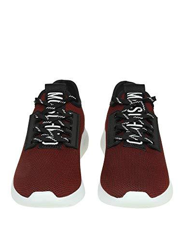 Burdeos Mujer Zapatillas MA15054G16MJ0550 Tela Moschino EqTpw66