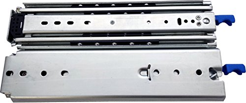 3600 Series 500 LB Full Extension Lock In/Out Drawer Slide (22inch) by Ryadon