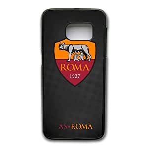 Wunatin Hard Case ,Samsung Galaxy S7 Edge Cell Phone Case Black As Roma [with Free Touch Stylus Pen] BA-0765424