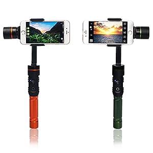 HITSAN Hohem Isteady Bluetoot Control 3-Axis Handheld Steady Cam Gimble Stabilizator for Smartphone One Piece