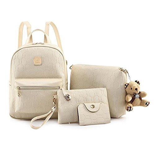 décontracté sac PU main 23 multifonctionnel souple dos 30cm cuir sac de la à en femmes mode des Sac à 14 qZ7xawT
