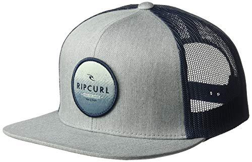 d96e78c7ad2815 Rip Curl Men's Patch Trucker Mesh Hat, Routine Grey 4K, 1SZ