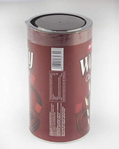 Dukes Waffy Rolls Tin, Chocolate, 300g