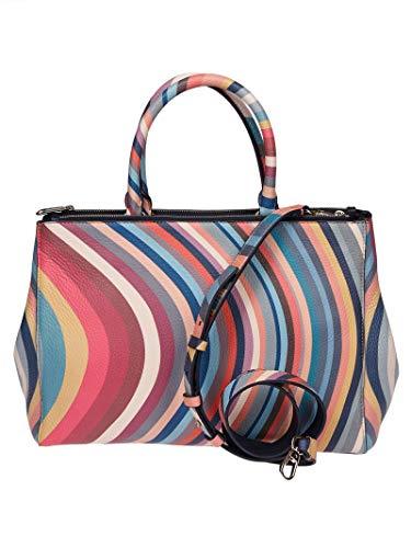 Paul Smith Women's W1a5477aswirl90 Multicolor Leather Handbag