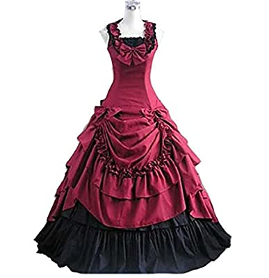 Gracelove Halloween costumes for women southern belle costume Victorian dress Ball Gown Gothic lolita dress