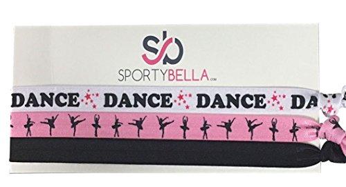 Dance Headband- Girls Dance Hair Accessories- Love Dance Headband - Perfect Gift For Dance Recitals