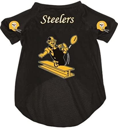 check out 9af4d 5154f Pittsburgh Steelers Pet Dog Football Jersey SMALL