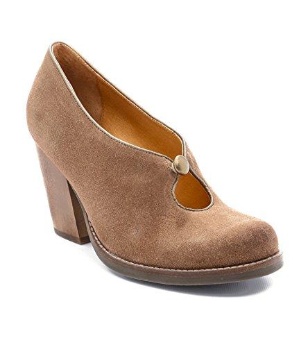 Wood Brown Latigo - Latigo Flame Women's Heels Cocoa Size 8 M (LA11455)