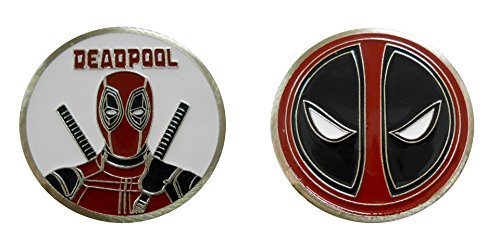 Deadpool - Character Collectible Challenge Coin / Logo Poker / Lucky Chip by Coin and Coins