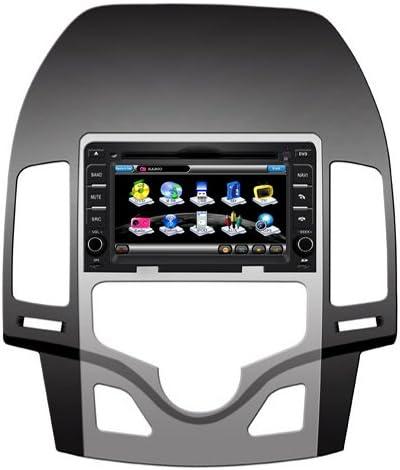 2din 6 7 For Hyundai I30 2009 2011 Gps And Bluetooth Handsfree Function Cd Dvd Usb Sd Ipod Navigation Car Hifi