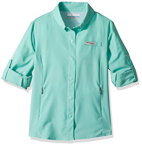 Price comparison product image Columbia Girls Tamiami Long Sleeve Shirt, Pixie, XX-Small