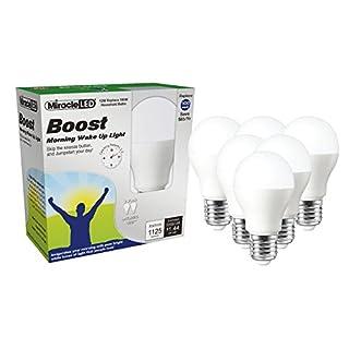 Miracle LED Nature's Vibe Boost Morning Wake Up LED Light Bulb (604220), Set of 6 Bulbs