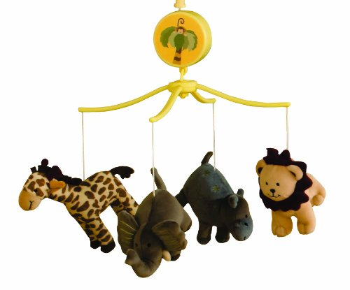 Bedtime Originals Happy Tails Musical Mobile, Baby & Kids Zone
