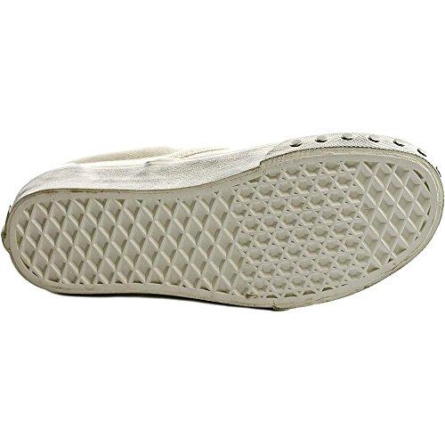 Varebiler Unisex Klassiske Slip-on Overwashed Joggesko Blanc De Blanc