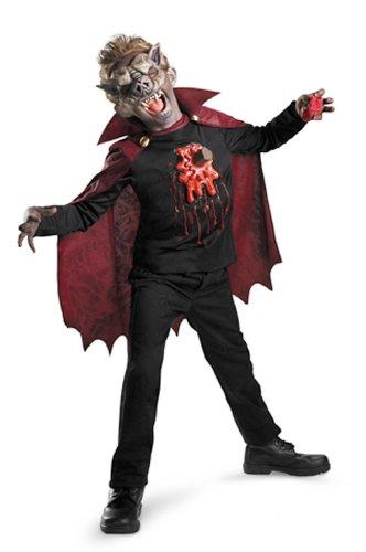 [Blood Vamp Child Costume] (Gruesome Bat Mask)