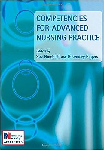 Competencies for Advanced Nursing Practice (Hodder Arnold Publication)