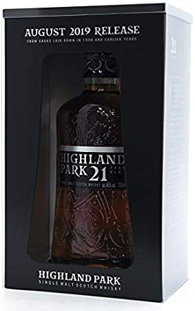 Highland Park Highland Park 21 Years Old Single Malt Scotch Whisky Release 2019 46% Vol. 0,7l in Giftbox - 700 ml