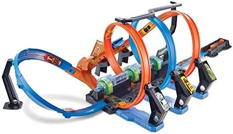 Hot Wheels Corkscrew Crash Track Set