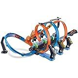 Pista Espiral De Batidas, Hot Wheels, Mattel