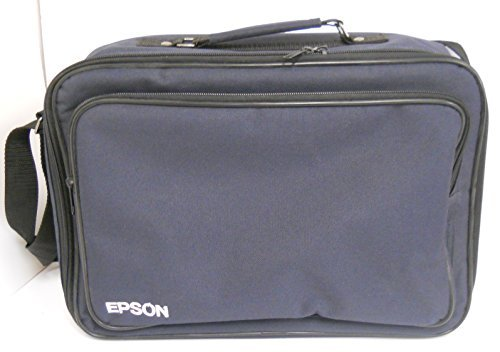 Epson PowerLite S1+ Projector Blue Nylon Carring Case with Storage Pocket and Adjustable Strap